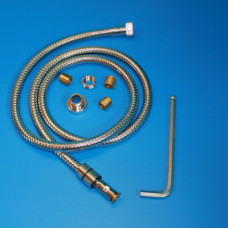 Removable hose + adapters / 2m