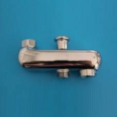 Bath shower diverter spout