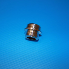 Male 18/150 15/21 chrome adapter
